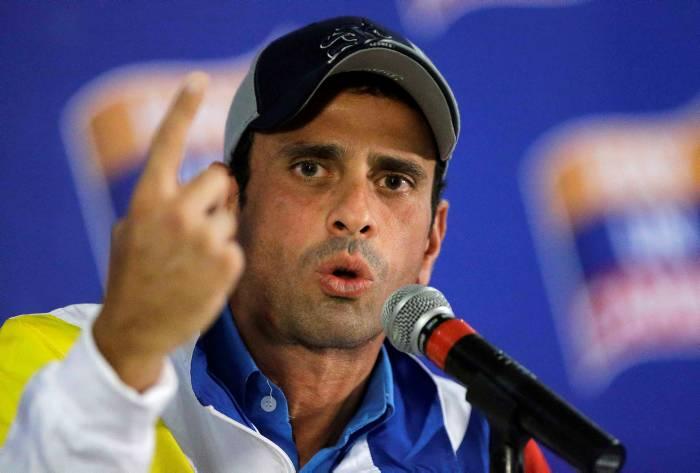 """Henrique Capriles Radonski ha dicho en varias ocasiones que el proceso de revocatorio se realizará este año. """"Cumpliendo todos los lapsos podría hacerse el domingo 30 de octubre, o el domingo 6 de noviembre"""