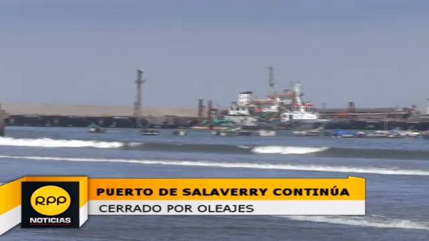 Los pescadores por ahora no pueden realizar sus faenas.