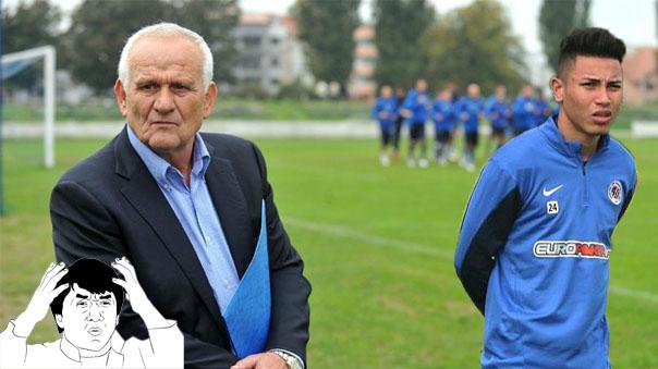 Jean Deza pide más continuidad en el equipo, pero no quiere correr en los entrenamientos.