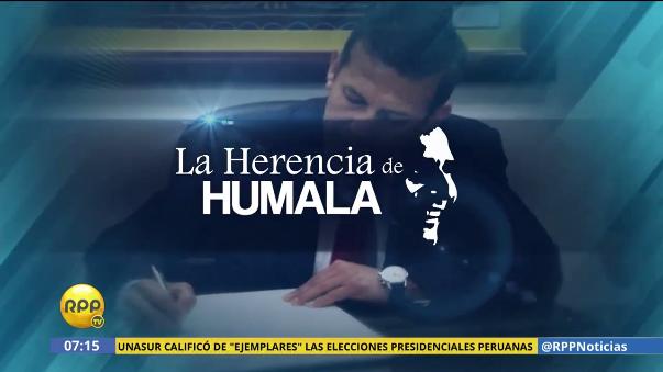 Ollanta Humala prometió que el crecimiento económico en su gobierno beneficiaría a todos.