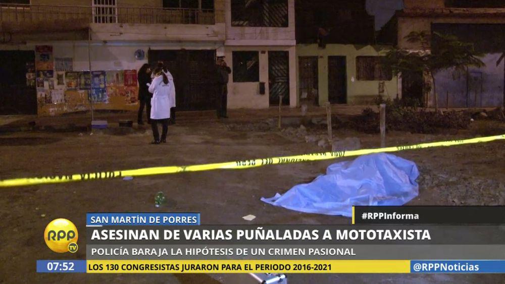 Edson Huaylinos Torres (32) fue atacado mientras bebía licor en una bodega.