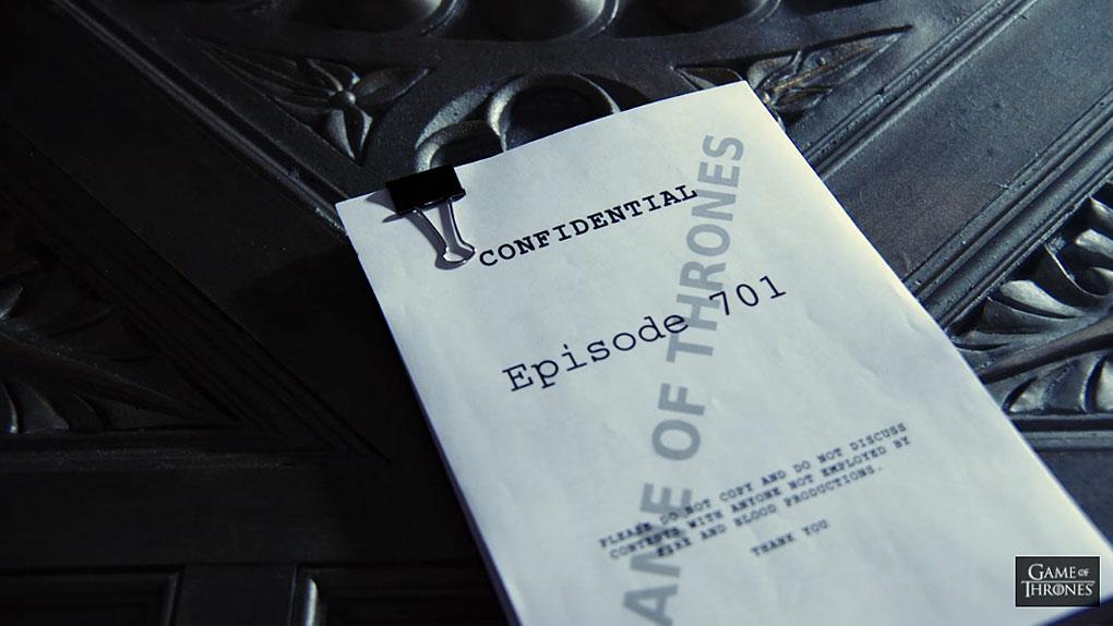 Teaser de la temporada 7 de Game of Thrones