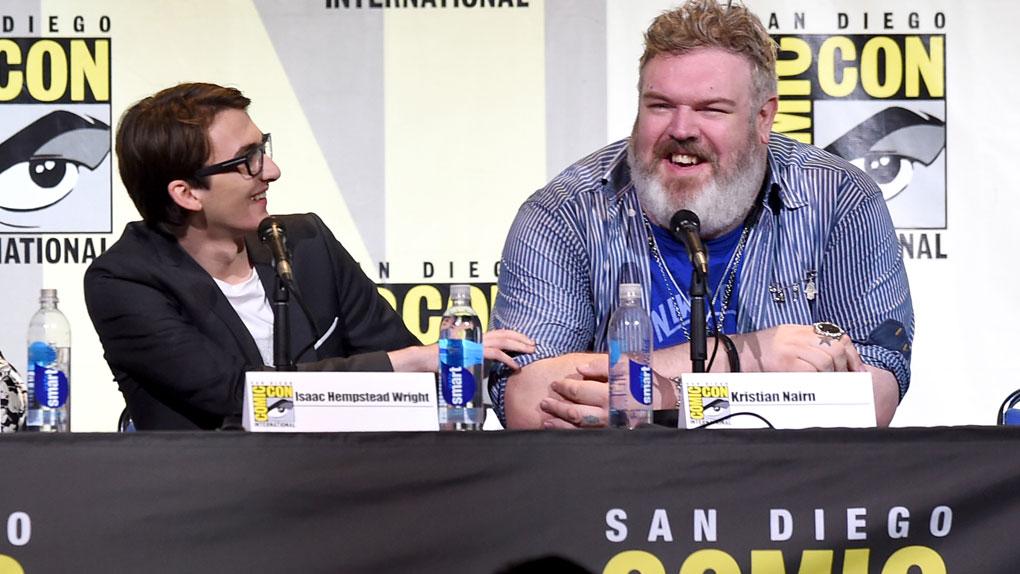 Hodor fue el más aplaudido por los fans de Game of Thrones