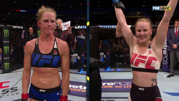 Valentina Shevchenko derrotó a la ex campeona de la UFC Holly Holm