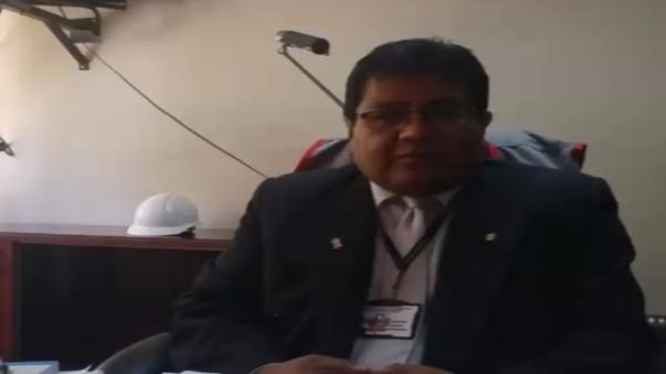 Gerente regional de Trabajo de Arequipa, Fredy Cahui.