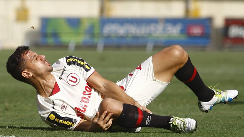 El goleador de Universitario  es Edinson Flores con 8 tantos en la actual temporada.