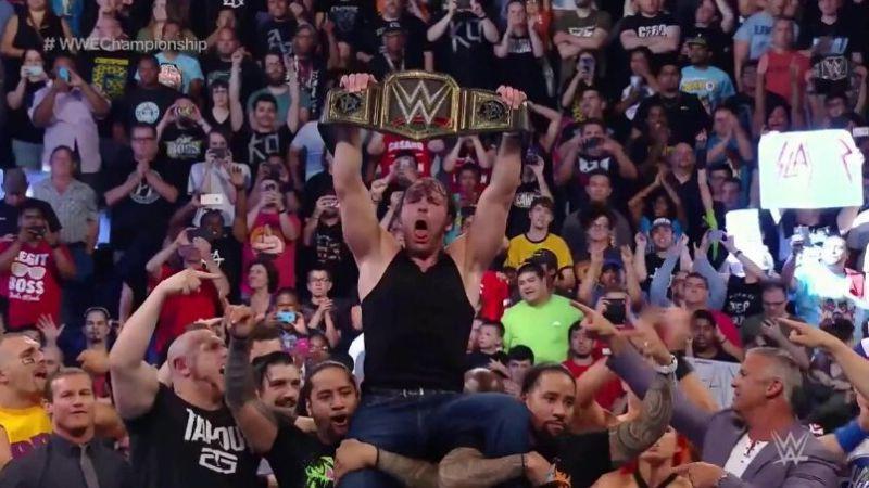 Deam Ambrose podrá aparecer tanto en Raw como en SmackDown por ser el campeón de la WWE.