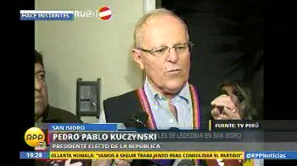 Pedro Pablo Kuczynski negó que firme indulto para Fujimori
