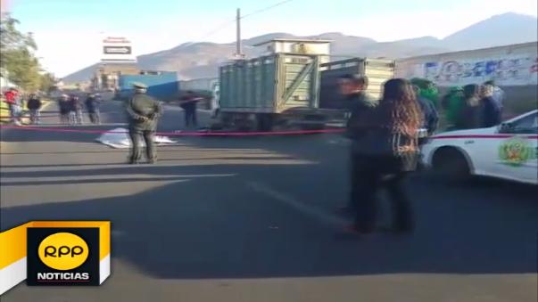 Accidente en Arequipa.