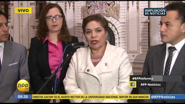 Luz Salgado es la cabeza de la lista y todo indica que será la primera presidenta del nuevo Congreso.