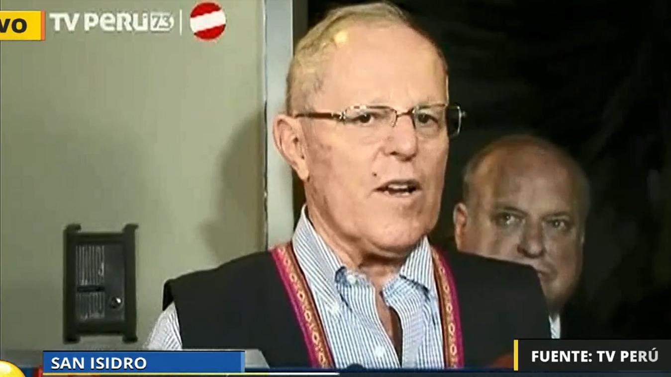 El presidente electo Pedro Pablo Kuczynski (PPK) habló sobre la situación en Venezuela.