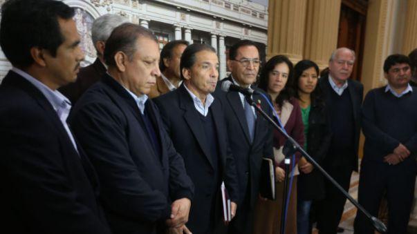 El Frente Amplio presentó a su lista para la Mesa Directiva, a pesar de que saben que no ganarán.