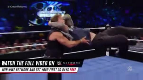 Así fue el regreso de Randy Orton a la WWE.