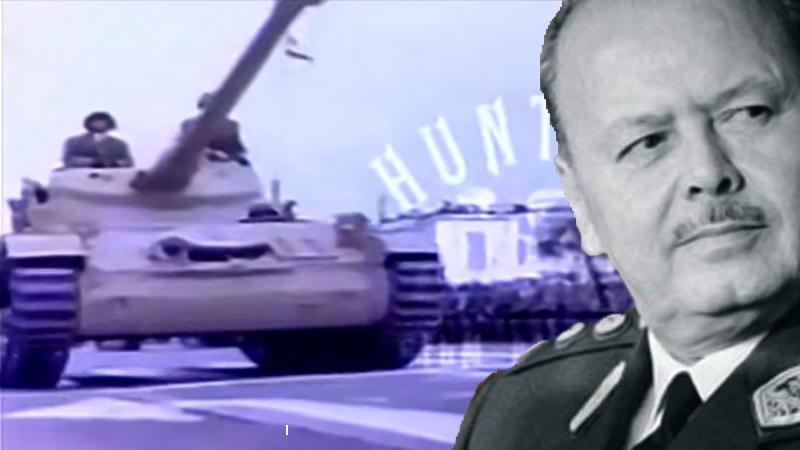 Este es un video histórico ya que existen solo tres videos de dicho desfile militar.