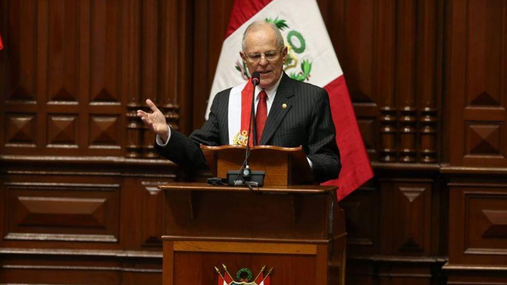 El jefe de Estado enumeró todos sus compromisos en su primer discurso por Fiestas Patrias.