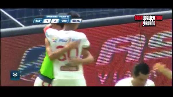El gol de Rául Ruidíaz ante Alianza Lima.