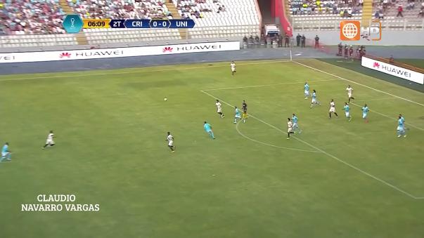 El golazo de chalaca de Edison Flores ante Sporting Cristal.