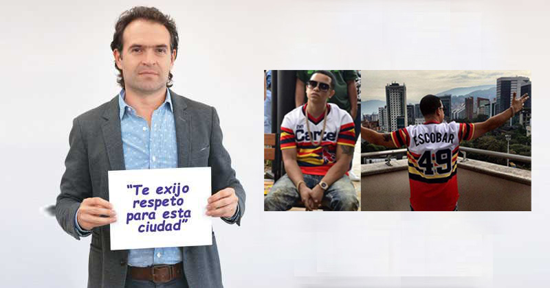 El Alcalde de Medellín, Federico Gutiérrez, recordó que Escobar es lo peor que le ha pasado a Medellín.
