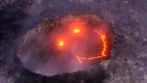 Volcán sonriente