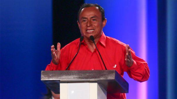 El excandidato presidencial Gregorio Santos aseguró ser un perseguido político.