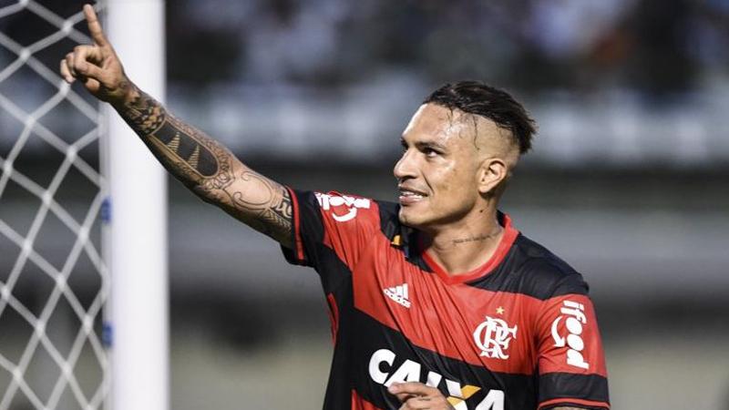 Paolo Guerrero llegó a Flamengo procedente del Corinthias.