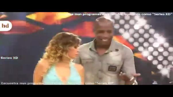 Luis Guadalupe bailó con Gisela Valcárcel y con Angie Arizaga en su ingreso al reality de baile.