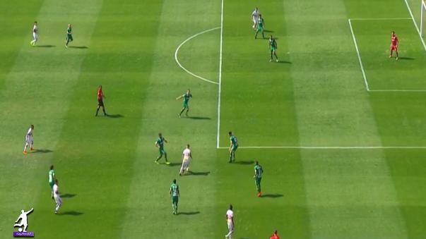 La efusiva narración del primer gol de Cueva ante el Sao Paulo