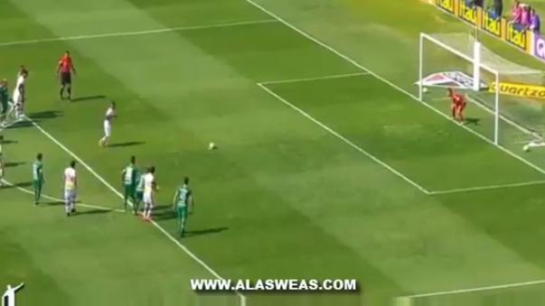 La narración del segundo gol de Cueva con el Sao Paulo.