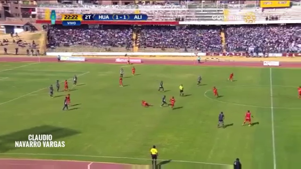 El golazo de Anier Figueroa ante Alianza Lima.