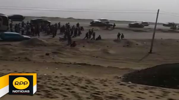 Invasión de terrenos.