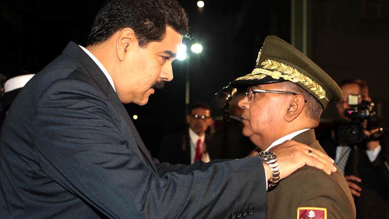 Nicolás Maduro afirmó que cuando Néstor Reverol ocupó el mismo cargo hace algunos años