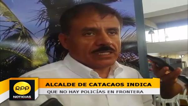 El alcalde distrital  de Catacaos, Juan Cieza, informó que esta situación estaría afectando el turismo en Piura.