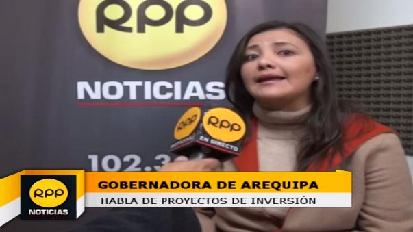Gobernadora de Arequipa