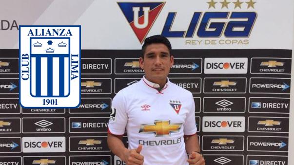 Irven Ávila, delantero peruano que jugará en el fútbol ecuatoriano.