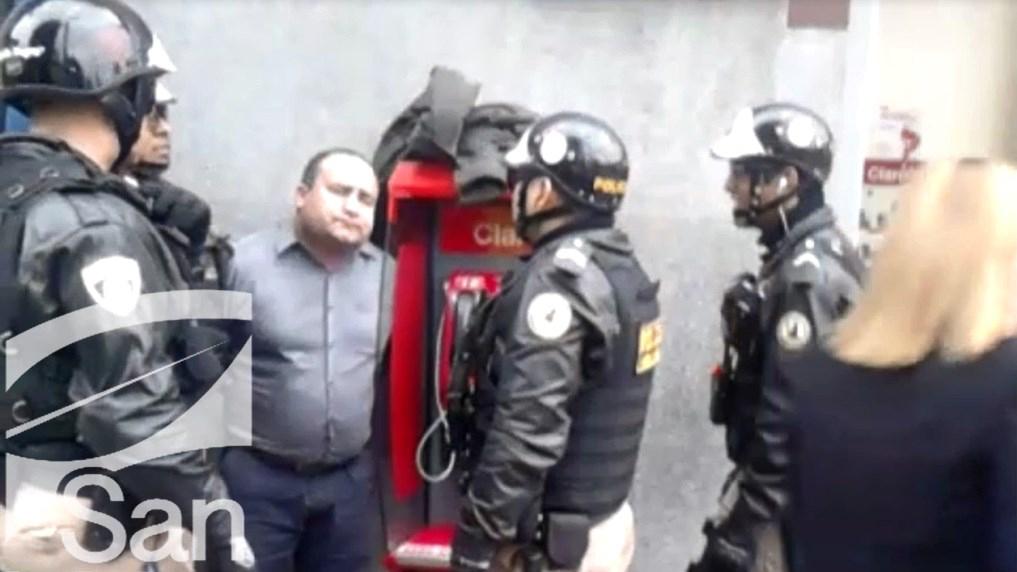 Según la Policía, el detenido Javier Echevarría Valladares, sería conocido como 'Mantarraya' y ya habría estado preso más de una vez.