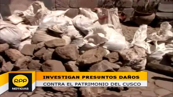 Realización de una obra al interior de una vivienda colonial habría ocasionado daños en piedras de época incaica.