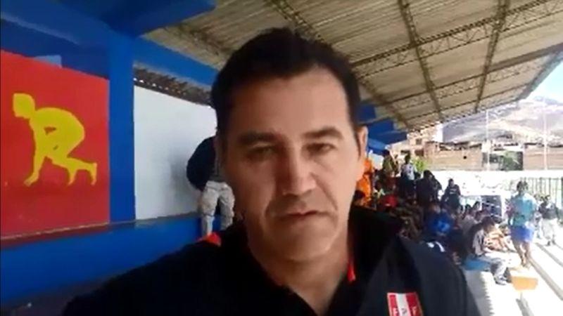 Daniel Ahmed es jefe de la Unidad Técnica de la Federación Peruana de Fútbol desde este año.