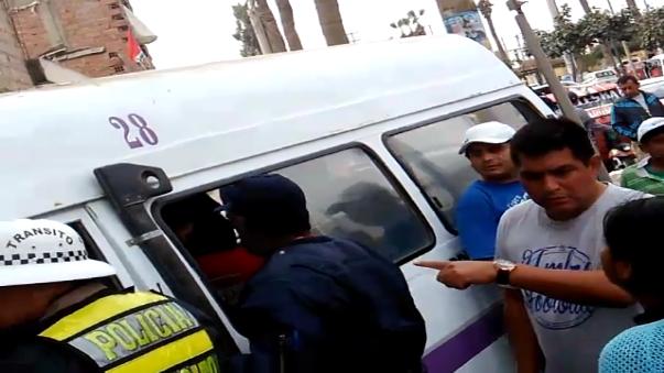 La policía investiga las causas del accidente.