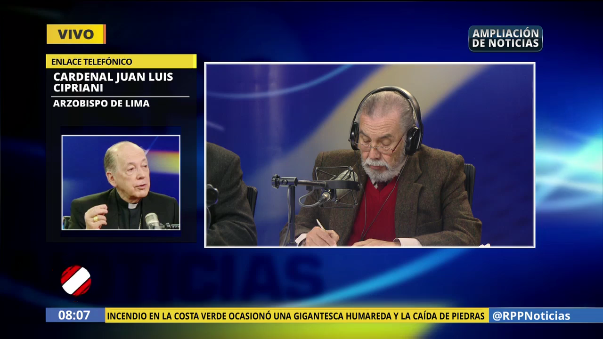Cardenal Juan Luis Cipriani lamentó sus frases contra la mujer.