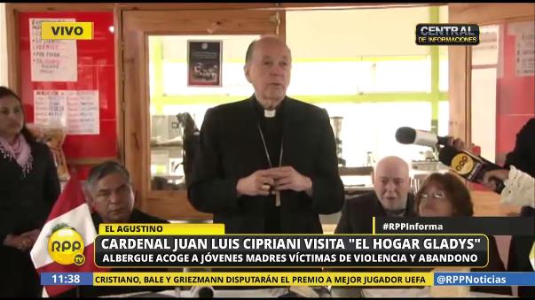 Juan Luis Cipriani pidió perdón por sus frases contra la mujer.