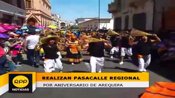 Son más de 600 danzantes provenientes de diversas ciudades de la provincia que participan de este tradicional evento.