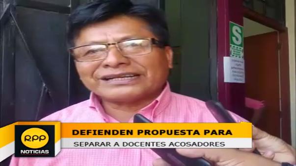 Pedro Periche espera que la propuesta de separación definitiva sea implementada y debatida en el Congreso.