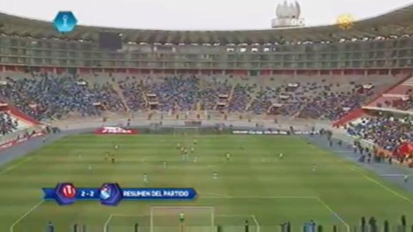 Universitario de Deportes 2-2 Sporting Cristal (Resumen del partido).