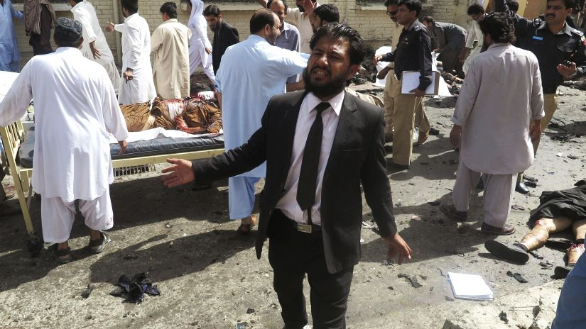 La mayoría de víctimas eran abogados, quienes se han convertido en el blanco de terroristas.