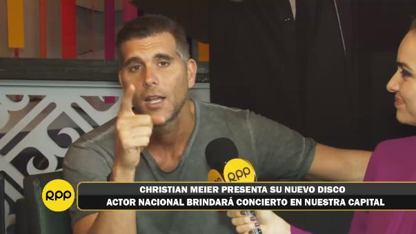 Christian Meier en conversación con RPP Noticias