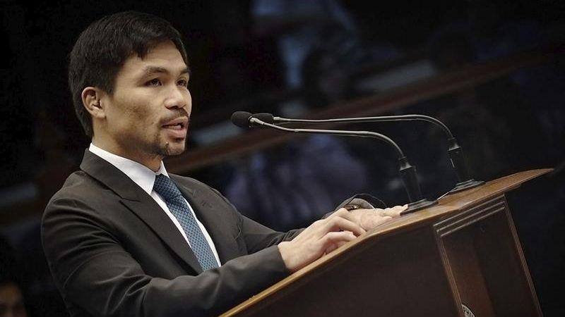 Manny Pacquiao fue elegido senador filipino en los comicios del pasado 9 de mayo.