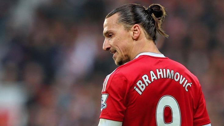 Zlatan anotó su primer gol ante Leicester City por la Community Shield.