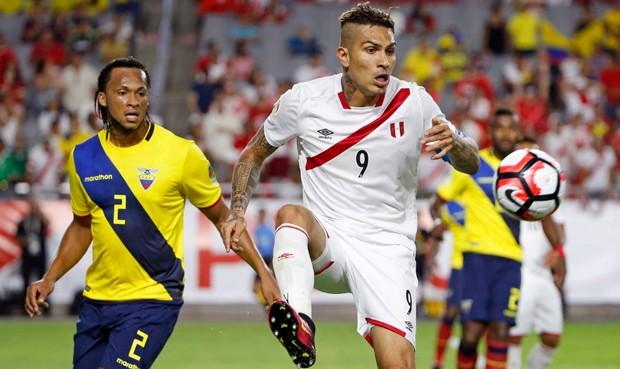 Perú y Ecuador igualaron 2-2 por la Copa América Centenario.