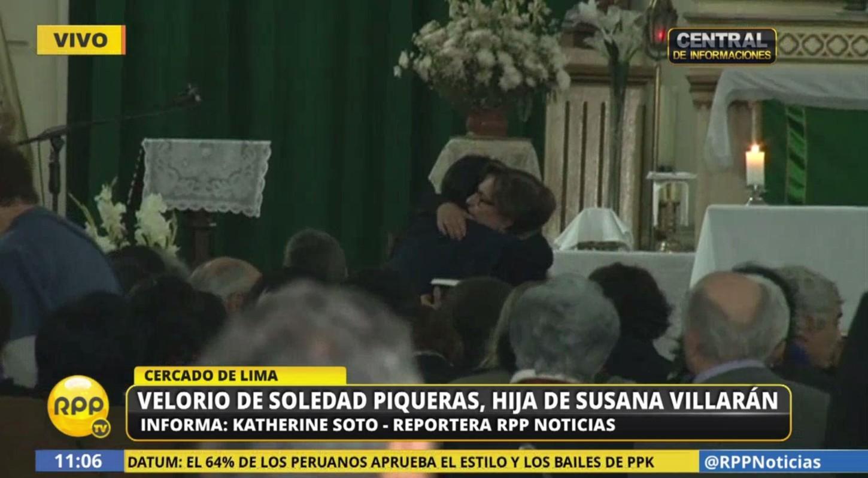 Velan restos de Soledad Piqueras, hija de Susana Villarán.