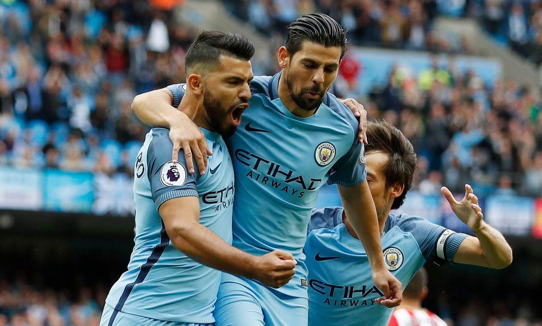 Manchester City pasó más de un susto para lograr sus primeros 3 puntos en la Premier League.